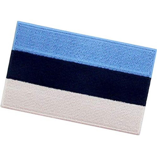 EmbTao Airsoft Morale Patch 4 EmbTao Estonia Flag Patch Embroidered National Morale Applique Iron On Sew On Estonian Emblem