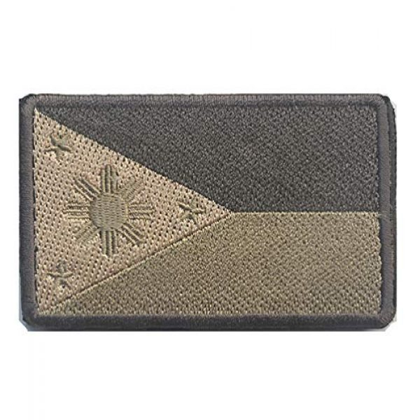 June Sports Airsoft Morale Patch 2 2 Pcs World National Flag Velcro Patches Tactical Morale Patch Set ABG5
