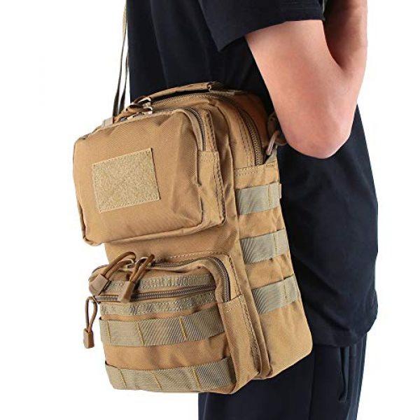 Bediffer Tactical Pouch 7 Bediffer Trekking Lightweight Hiking Waterproof Hiking Backpack for Men & Women