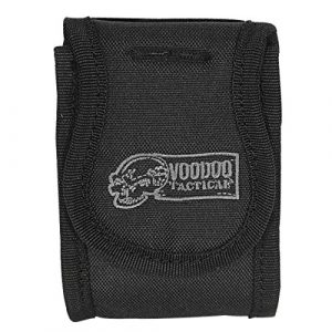 VooDoo Tactical Tactical Pouch 1 VooDoo Tactical 20-9220001000 Electronics Gadget Pouch With Hook-N-Loop Backing, Black