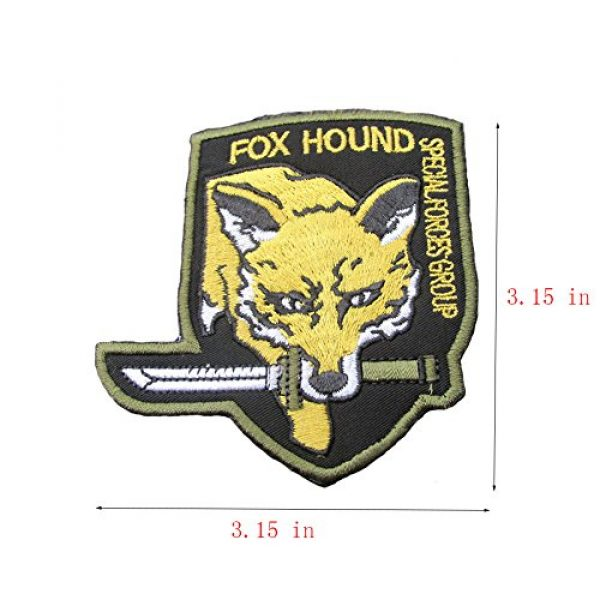 GrayCell Airsoft Morale Patch 3 GrayCell Military Morale Diamond Dogs and Metal Gear Solid Fox Patch