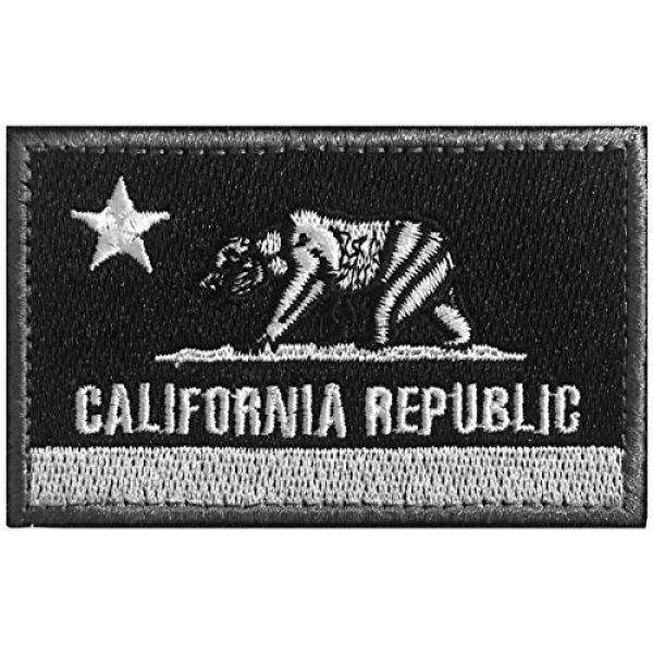 WZT Airsoft Morale Patch 7 WZT 5 pcs California Tactical Patch - Morale Military Patches