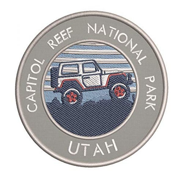 Appalachian Spirit Airsoft Morale Patch 1 Roadtrip! Capitol Reef National Park Embroidered DIY Iron on or Sew-on Decorative Patch Badge Emblem Appliques Vacation Souvenir Travel Explore More Wander Adventure Series