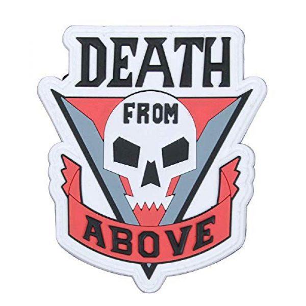 "Violent Little Machine Shop Airsoft Morale Patch 1 Violent Little Machine Shop""Death From Above"" Starship Troopers Morale Patch"