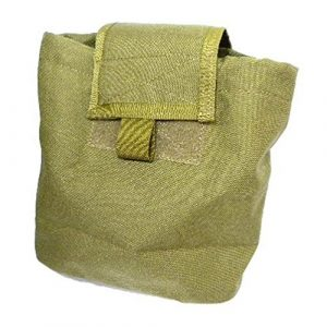 TMC Tactical Pouch 1 AIRSOFT MULTICAM GREEN TAN DE MOLLE FOLDABLE DUMP POUCH HOLDER LIGHT CORDURA OD @ HELMET WORLD