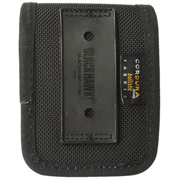 BLACKHAWK Tactical Pouch 2 BLACKHAWK 44A300BK Molded Black CORDURA Latex Glove Pouch