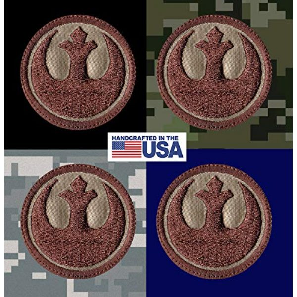 Tactical Patch Works Airsoft Morale Patch 3 Rebel Alliance Star Wars Inspired Art Patch
