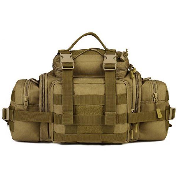 ArcEnCiel Tactical Pouch 1 ArcEnCiel Tactical Duffle Bag Fishing Fanny Pack Range Bags Men Gym Military Molle Shoulder Bags Waist Camera Sports Handbag