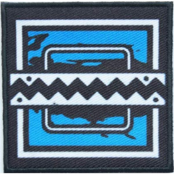Tactical Embroidery Patch Airsoft Morale Patch 1 Rainbow Six Operator Frost Embroidery Patch Military Tactical Morale Patch Badges Emblem Applique Hook Patches for Clothes Backpack Accessories