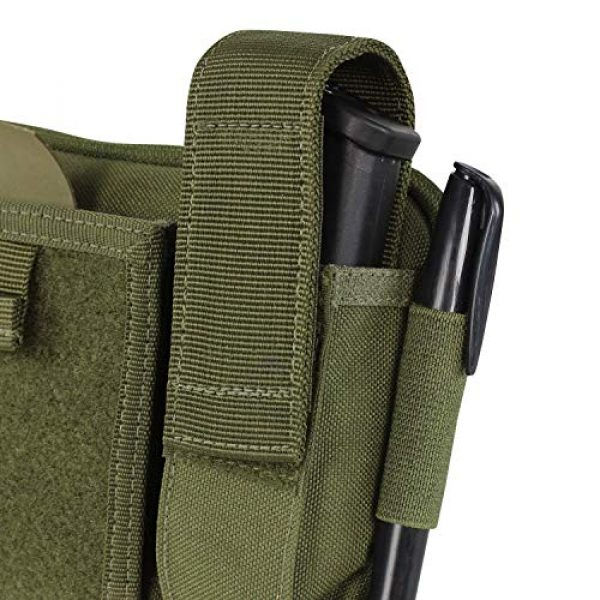 Condor Tactical Pouch 3 Condor Annex Tactical Admin Pouch (Black)