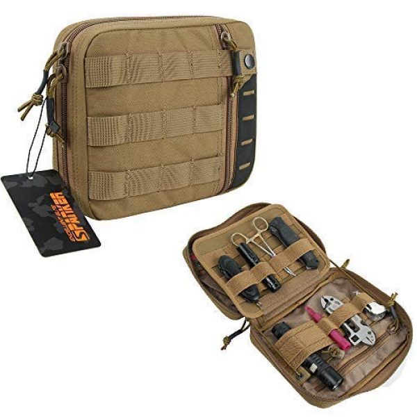 EXCELLENT ELITE SPANKER Tactical Pouch 6 Tactical Molle EDC Pouch Utility Molle Pouch Coyote Brown