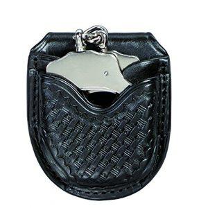 Triple K Tactical Pouch 1 Triple K Brand Open Top Handcuff Carrier Black