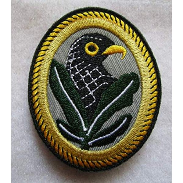 Embroidered Patch Airsoft Morale Patch 1 WW2 German Sniper Badge 2ND Class 3D Tactical Patch Military Embroidered Morale Tags Badge Embroidered Patch DIY Applique Shoulder Patch Embroidery Gift Patch