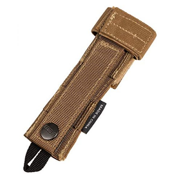 IDOGEAR Tactical Pouch 2 IDOGEAR Tactical Radio Antenna System Relocation Pouch Molle Pouch for PRC152 PRC148 MBITR