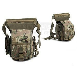 ZAPT Tactical Pouch 1 ZAPT Multi-Purpose Military Tactical Drop Thigh Leg Bag Outdoor Pack NIP Pocket Hunting Tool Panel Utility Waist Belt Pouch Bag