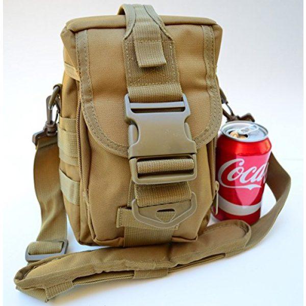 Acid Tactical Tactical Pouch 2 Acid Tactical MOLLE First Aid Bag Pouch Trauma TAN/Sand EMT Medic Utility