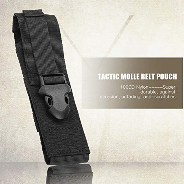 Yencoly Tactical Pouch 1 Yencoly Military Belt Pouch, Tactic Pouch, Tear Resistant Lightweight for Outdoor
