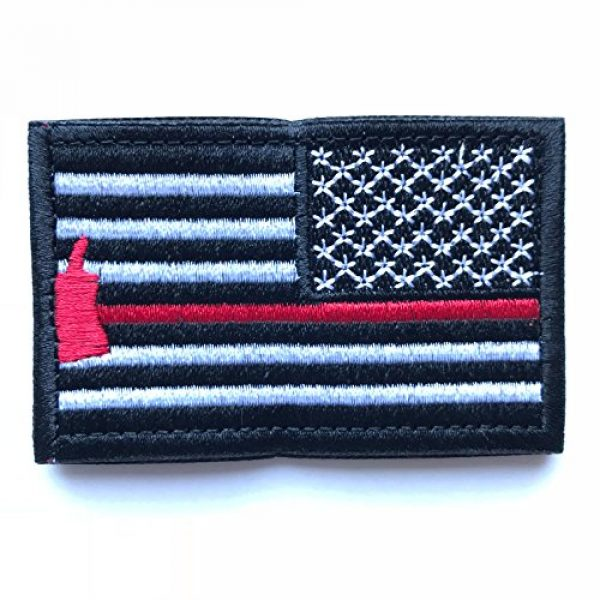 Backwoods Barnaby Airsoft Morale Patch 1 Backwoods Barnaby American Flag Reverse USA Morale Patch (Right Shoulder)