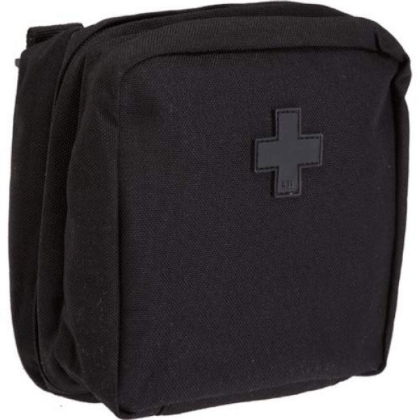 """5.11 Tactical Pouch 5 5.11 Tactical 6"""" x 6"""" Multi-Compartment Mesh Pockets Medical Pouch, YKK Zipper, Style 58715"""