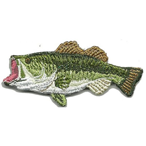 """Gadsden and Culpeper Airsoft Morale Patch 1 1 1/2"""" x 3"""" Die-Cut BASS - Tactical Morale Patch"""