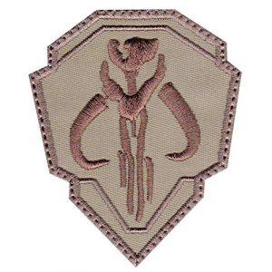 Patch Brigade Airsoft Morale Patch 1 Mandalorian Mythosaur Skull Crest Shield Patch