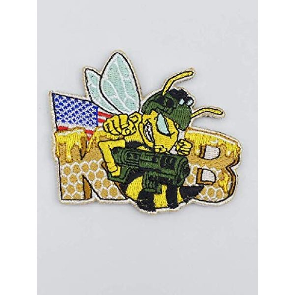 Killer Bee Airsoft Airsoft Morale Patch 3 Killer Bee Embroidered Moral Patch