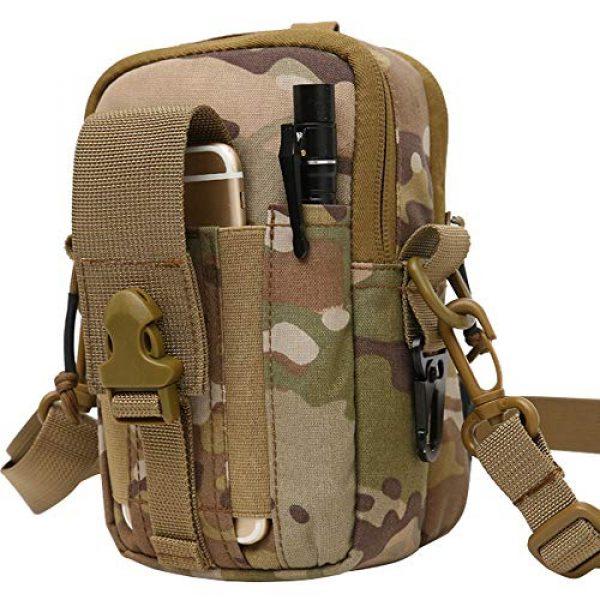 ANTARCTICA Tactical Pouch 1 ANTARCTICA 1050D Tactical Molle EDC Pouch Waist Bag Cell Phone Holster Holder Outdoor Hip Waist Belt Bag Wallet Purse