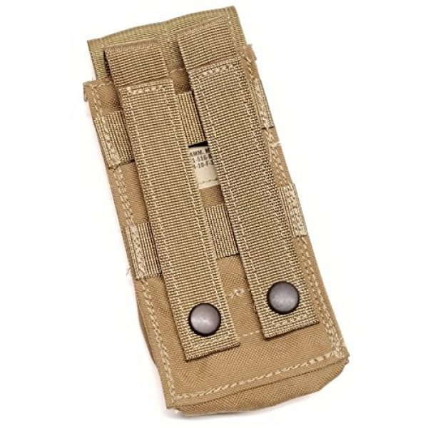 Allied Industries Tactical Pouch 2 Allied Industries FSBE M4 1x2 Magazine Pouch Coyote Brown