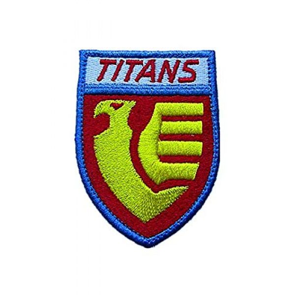 Embroidery Patch Airsoft Morale Patch 1 Titans Gundam Military Hook Loop Tactics Morale Embroidered Patch