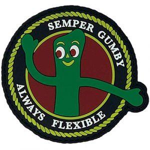 PatchOps Airsoft Morale Patch 1 PatchOps Semper Gumby Always Flexible PVC Tactical Morale Patch