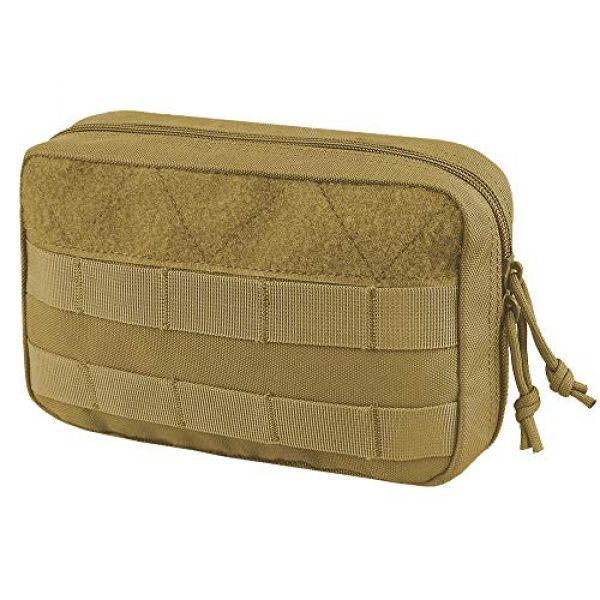 AMYIPO Tactical Pouch 1 AMYIPO Tactical Molle Admin Pouch Equipment Multi-Purpose EDC Utility Tools Bag Utility Pouches Molle Attachment Military Modular Attachment