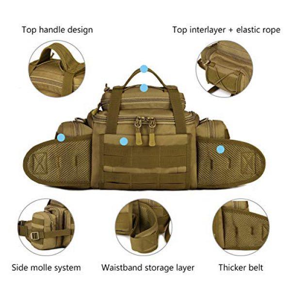 ArcEnCiel Tactical Pouch 5 ArcEnCiel Tactical Duffle Bag Fishing Fanny Pack Range Bags Men Gym Military Molle Shoulder Bags Waist Camera Sports Handbag