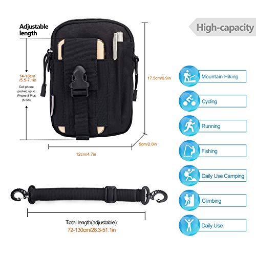 Mardingtop Tactical Backpack 3 Mardingtop Bundle Items: 28L Molle Hiking Tactical Backpack Black