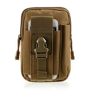Fouos Tactical Pouch 1 Fouos Tactical Molle EDC Pouch Utility Belt Waist Bag with Cell Phone Holster Holder,Ourdoor Cycling