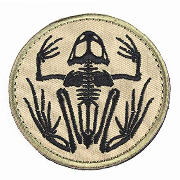 Tactical Embroidery Patch Airsoft Morale Patch 1 Navy Devgru Seal Team Six Skeleton Frog Frogman Embroidery Patch Military Tactical Morale Patch Badges Emblem Applique Hook Patches for Clothes Backpack Accessories