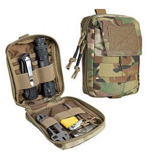 EXCELLENT ELITE SPANKER Tactical Pouch 1 EXCELLENT ELITE SPANKER Molle Admin Pouch Military Utility Tool Pouch EDC Molle Pouchs Gadget Waist Bags