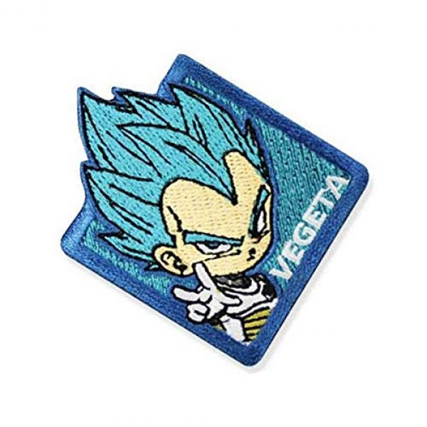 Embroidery Patch Airsoft Morale Patch 2 Dragon Ball Super Vegeta Military Hook Loop Tactics Morale Embroidered Patch
