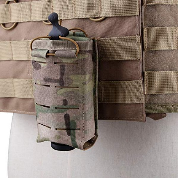 ATAIRSOFT Tactical Pouch 6 ATAIRSOFT Tactical Single MOLLE 1000D Adjustable Magazine Mag Holder Pouch Carrier for Airsoft Hunting Military Shooting