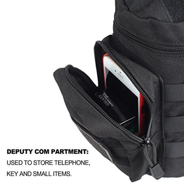 AMYIPO Tactical Pouch 4 AMYIPO Tactical MOLLE Water Bottle Pouch Holder Storage Bag for 32oz Carrier