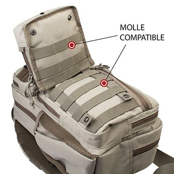 3V Gear Tactical Pouch 7 3V Gear Modular MOLLE Utility Pouch