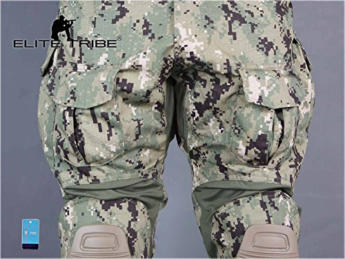 Elite Tribe Tactical Pant 6 Emerson Airsoft Hunting Tactical Pants Combat Gen3 Pants with Knee Pad
