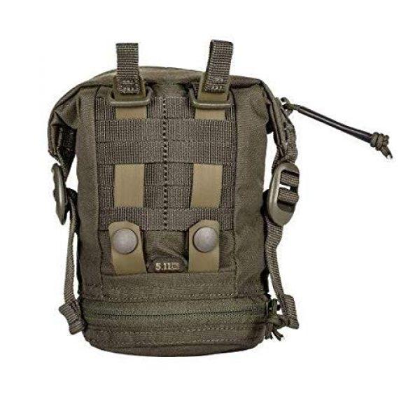 5.11 Tactical Pouch 2 5.11 Tactical Style # 56490 Expandable Flex Vertical GP Pouch, Includes 2 Flex Hook Adaptors