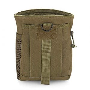 PanbooX Tactical Pouch 1 Tactical Molle Drawstring Magazine Dump Pouch Military Belt Utility Bag Outdoor Ammo Pouch