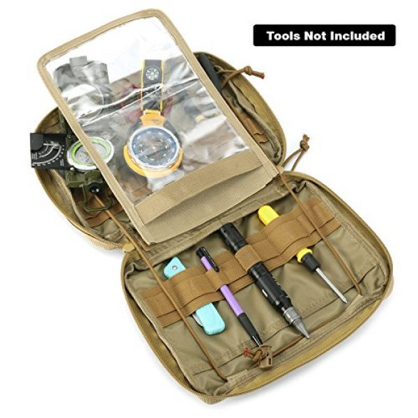 Barbarians Tactical Pouch 2 Barbarians Tactical MOLLE Pouch, Multi-Purpose Tool Holder Modular Utility Pouch
