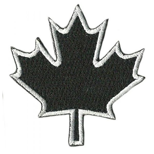 Gadsden and Culpeper Airsoft Morale Patch 1 Die Cut - Canada - Maple Leaf - Tactical Patch