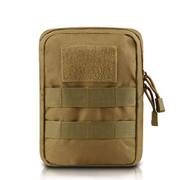 AMYIPO Tactical Pouch 1 AMYIPO Tactical Admin Molle Pouch Multi-Purpose Tool Holder Modular Utility Bag Tools EDC Admin Attachment Pouches