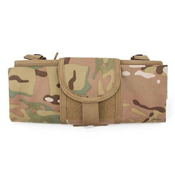 ATAIRSOFT Tactical Pouch 5 ATAIRSOFT Molle System Tactical Foldable Dump Magazine Pouch Hunting Recovery Bag Drop Pouches