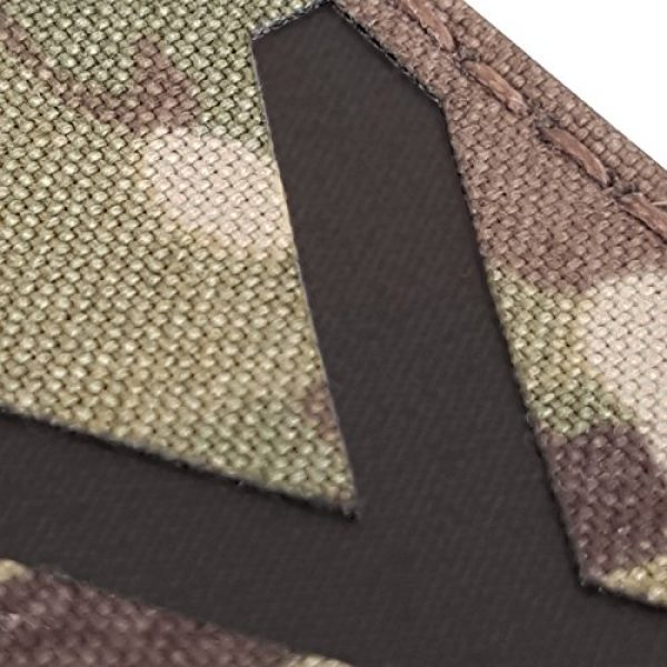 Tactical Freaky Airsoft Morale Patch 6 Multicam Infrared IR Alabama Flag Scotland 3.5x2 IFF Tactical Morale Fastener Patch