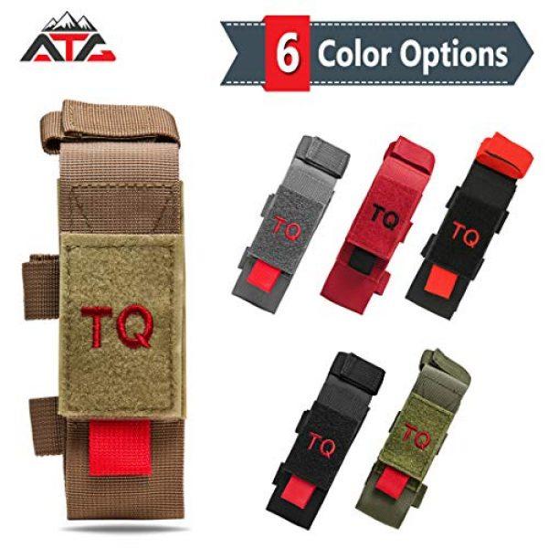 ATG Tactical Pouch 5 ATG Tactical Tourniquet & Trauma Medical Shear Pouch MOLLE PALS Duty Belt Loop EMT EMS