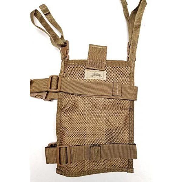 Allied Industries Tactical Pouch 2 Allied Industries USMC FSBE Leg Panel Coyote Brown